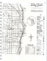 Map Image 022, Alcona County 1974